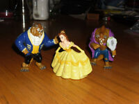 BEAUTY and the BEAST Figures Walt Disney Character Toys