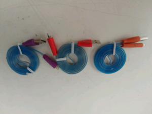 *BRAND NEW* 3 - iPhone 5 LED Coloured Charging Cords