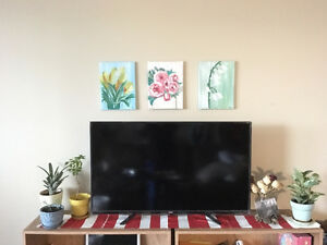 Great condition 4K LED slim TV