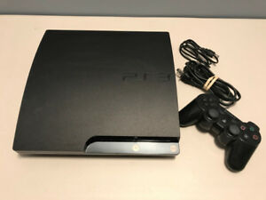 PlayStation 3 with 1 controller