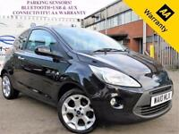 2010 10 FORD KA 1.2 TITANIUM TDCI 3D 74 BHP! P/X WELCOME! PARKING AID! BLUETOOTH