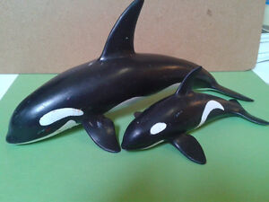 Schleich Toy Collection - Orca Family