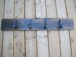 Reclaimed Barn Board Coat Hooks Cambridge Kitchener Area image 1