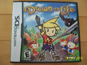 Drawn to Life for Sale (DS Game)