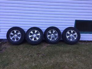 brand new 18 inch chrome Rims and Tires