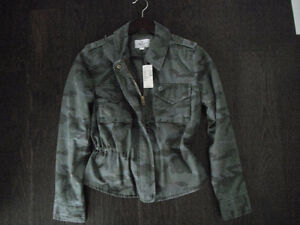 NWT Ladies American Eagle Camo Jacket Size Small