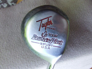 Taylor Made Tour Burner Plus #1 Driver (RH) + Head Cover - $30