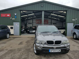 2004 BMW X5 3.0d automatic 2004MY Sport FULL SERVICE HISTORY