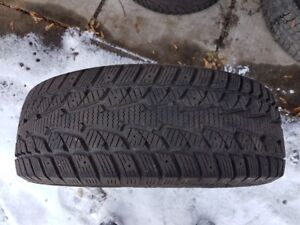 225 60 16  4 winter tire very good condition  $260