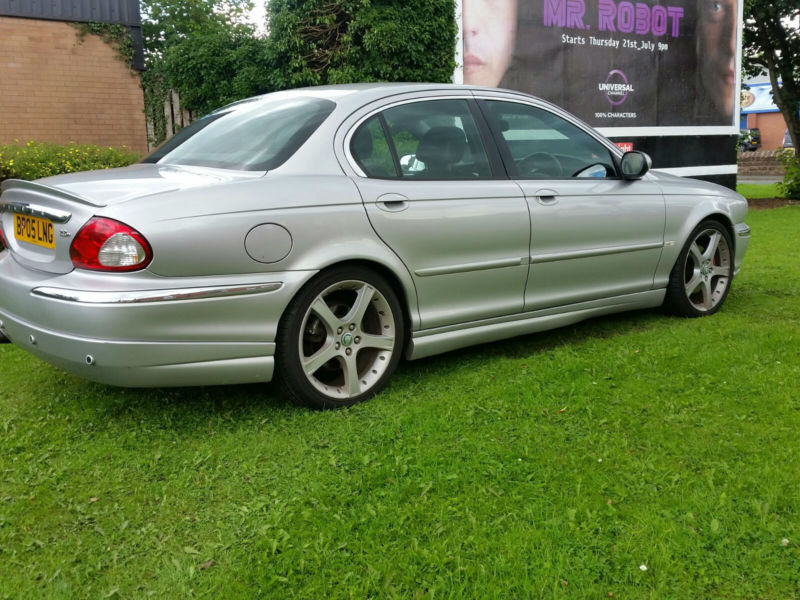 jaguar x type 2 2 diesel full body kit px swap anything. Black Bedroom Furniture Sets. Home Design Ideas