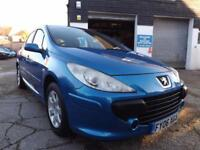 Peugeot 307 1.6 16v 2005 S 52000 MILES AUTOMATIC DRIVE AWAY TODAY!