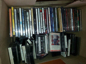 37 cds and various cassettes