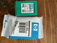 HP 94 Black and 95 Tri Colour Printer Cartridges
