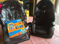 2 Evenflow chase dlx combination booster car seats