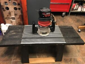 craftsman router and table for sale