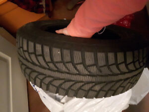 Brand new winter tires used 3 months $350 OBO