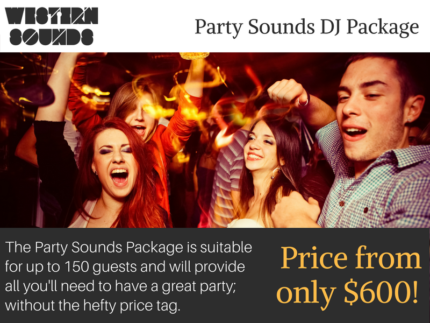 DJ Hire Perth   Western Sounds