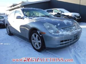 2004 INFINITI G35 LUXURY 4D SEDAN AWD LUXURY