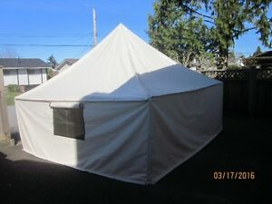 Pyramid tent new 12x12 canvas