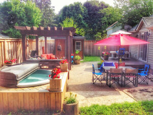 Brucester's Roost Backyard Paradise Rental Port Elgin, Ontario
