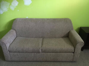 Great Condition Couch With Pullout Mattress