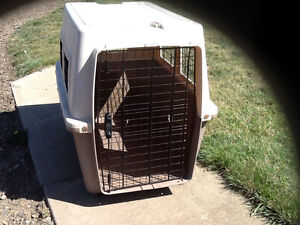 XL Dog Kennel and dog bed