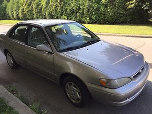 2000 Toyota Corolla LE Sedan