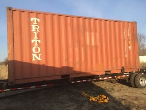 Used 8'-20' sea cans/containers for sale