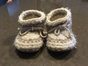 Children's wool boots