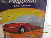 BRAND NEW  POLYBOND  CAR COVER  IN BOX..