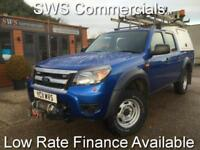 2011 (11) FORD RANGER XL 2.5 TDCI 143 4WD D/C CREWCAB PICK UP DIESEL BLUE 1 OWNE