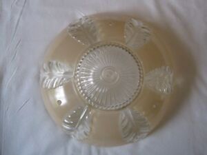 Antique light fixture and shade