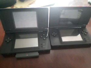 2 Nintendo DS work great no charger but any charger  basically