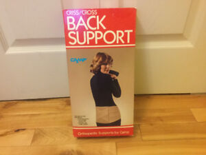 Back Support. ( never used) reg. 34$ shoppers