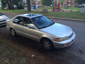 2000 Acura EL cuir Berline echange civic