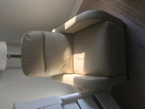 Natuzzi Leather Recliner Chair