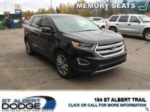2015 Ford Edge TITANIUM   | BACK CAM | FRONT/REAR HEATED LEATHER