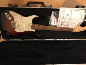 Left handed fender American deluxe Stratocaster price dropped