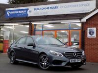 2015 65 MERCEDES-BENZ E CLASS E220 2.1 BLUETEC AMG NIGHT EDITION 4DR AUTO 175 BH