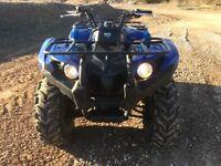 Yamaha grizzly 450 2011 4x4 diff locks irs