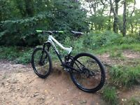 Giant fx full suspension downhill crosscountry