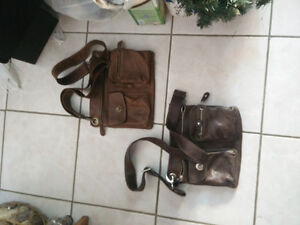 Roots Village and Danier Prince and Fannypack 100% Leather
