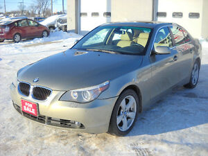 2006 BMW 530Xi AUTOMATIC ALL WHEEL DRIVE 170000 KMS