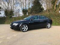 2003 03 AUDI A4 3.0 QUATTRO SPORT 6 SPEED MANUAL BLACK FULL SERVICE HISTORY