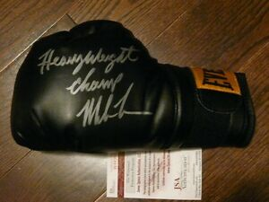 Mike Tyson signed boxing glove - various inscriptions JSA/COA Cambridge Kitchener Area image 2