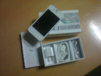 iPHONE 4s,16GB BLACK/WHITE BELL , VIRGIN , SOLO  LIKE NEW IN BOX