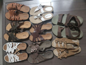 Wholesale lot of 35 Pairs Brand new Brand Name Shoes Clarks Polo