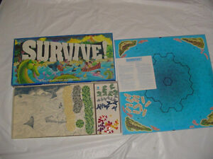 """Hard to Find """"SURVIVE"""" board game by Parker Brothers-1982 London Ontario image 1"""