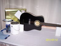 Guitar Card Box