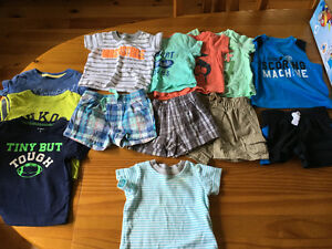 Boys 3 month lot summer clothes